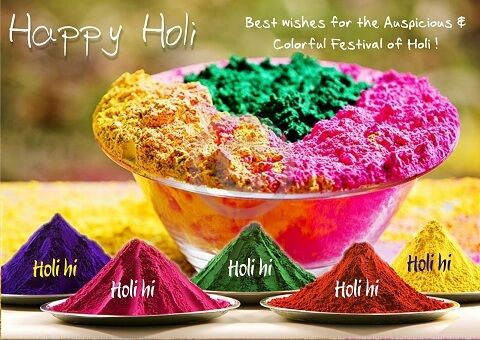 {Latest} Happy Holi 2017 Colourful Images Photos Wishes Wallpapers