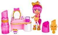 Shopkins Shoppies Spring 17 Lippy Lulu's Beauty Boutique Playset
