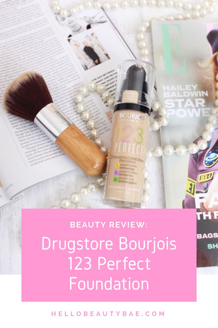 Beauty Review – Drugstore Bourjois 123 Perfect Foundation
