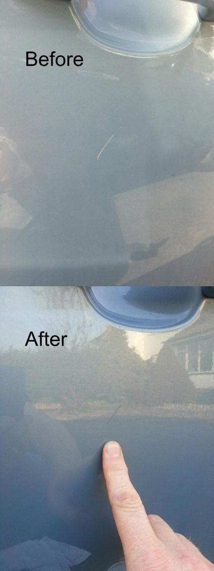 Before and after shots from Jason Pick - Another happy Chipex customer. Fix your cars stone chips now! #Chipex