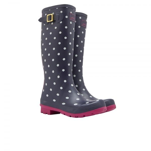 Joules Welly Print Women's Tall Wellington Boots