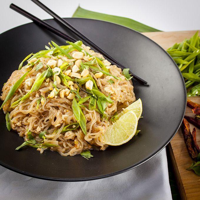Vegan Shirataki Pad Thai Recipe