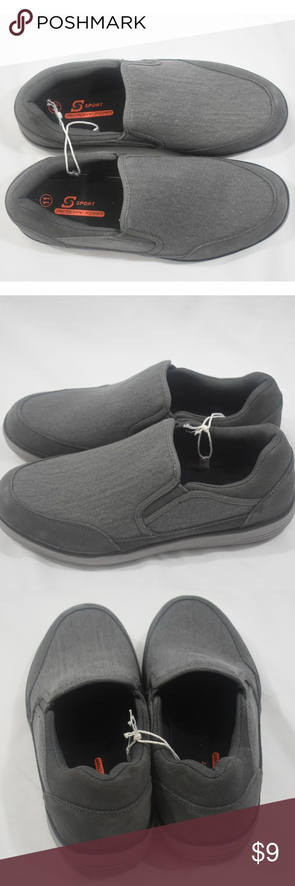 Skechers Men's Athletic Slip-On Sneakers - NWT Lighten up your sporty casual looks easily with these sporty shoes. Soft woven canvas fabric and sport suede upper in a slip on sporty casual comfort sneaker moc with stitching and overlay accents.  •Activity Worn for: Walking •Care and Cleaning: Avoid extreme heat Skechers Shoes Loafers & Slip-Ons