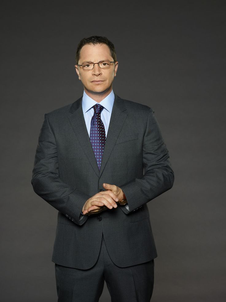 Josh Malina as David Rosen on Scandal Season 3