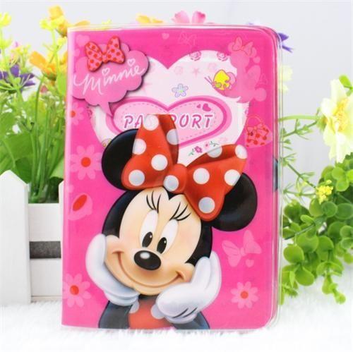 """Top Seller""- Children Mickey's 3D-Travel Passport Documents ID Holder"