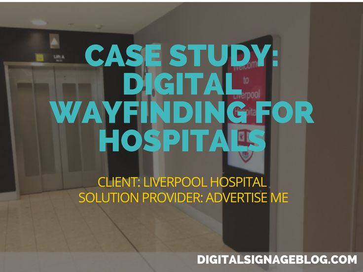 #Digital #Wayfinding the way of the #future for #Hospitals
