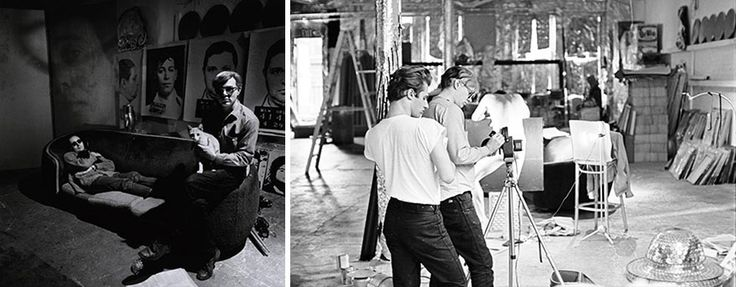 100 Famous Artists And Their Studios - Andy Warhol