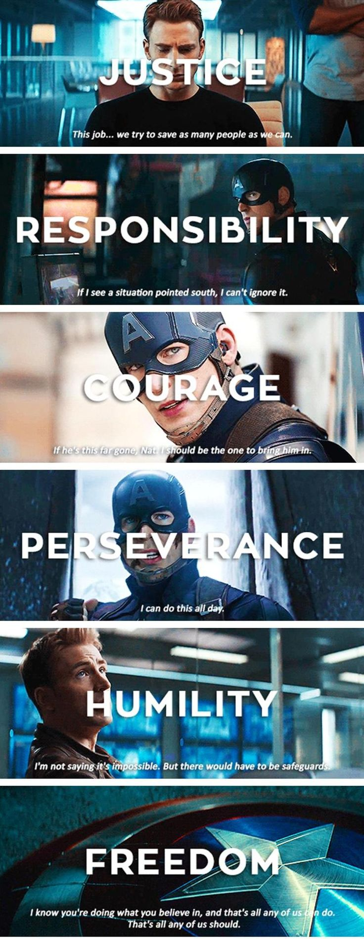 The Values of Captain America