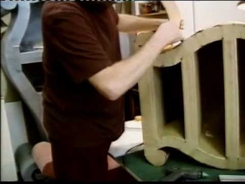 how to make cardboard furniture. in the link there is a video and a text tutorial.