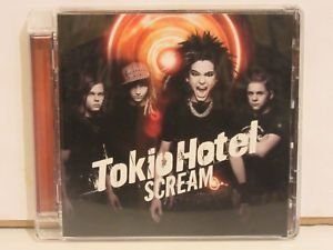 a tokio hotel scream 2007 super jewel box cd island records nmex