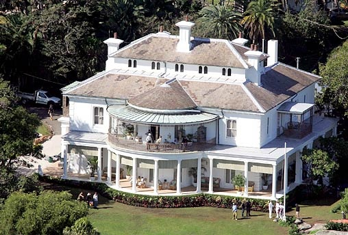 Exterior: Aerial View Of Strickland House In Vaucluse, Sydney, Where