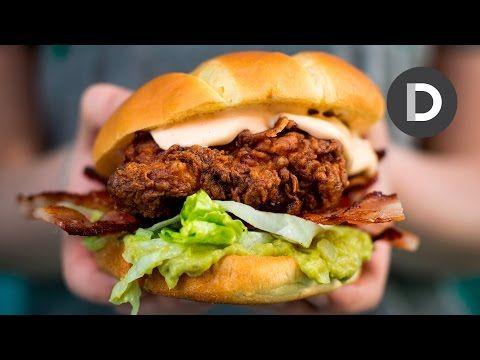Donal Skehan   Butchies Buttermilk Chicken Bun (AKA The Clancy Wiggum!)