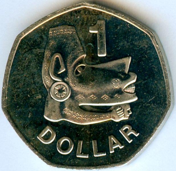 1 Dollar - Solomon Islands