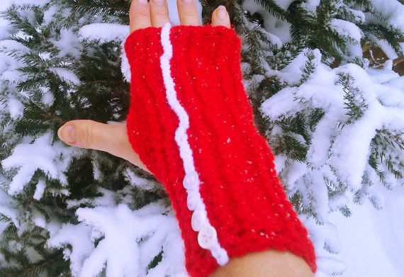 Hey, I found this really awesome Etsy listing at https://www.etsy.com/listing/174694612/red-knit-gloves-fingerless-gloves-hand