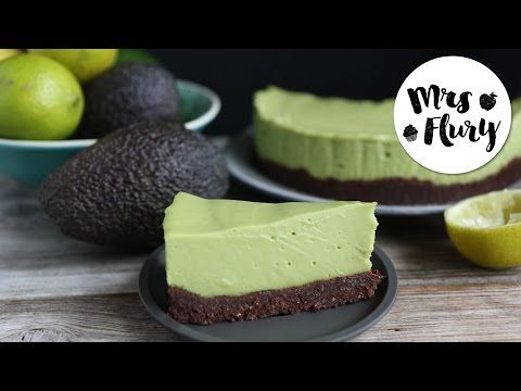 Avocado Cheesecake vegan | No bake - Mrs Flury - Recipes. Lovely, Easy & with a healthy touch