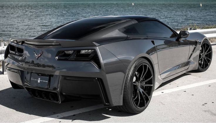 2014 Corvette Stingray I don't care if the tail lights are all wrong. I am in love with this.