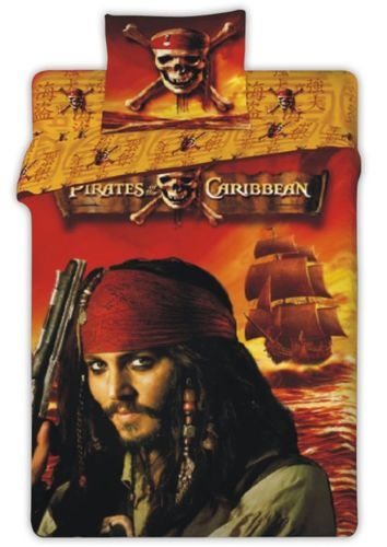 Pirates Of The Caribbean Duvet Cover Set 100 Cotton Jack Sparrow 140x200 Ebay Pirate Room