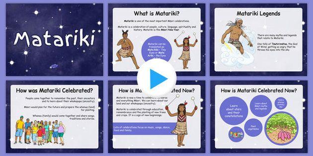 Matariki PowerPoint - Matariki, celebration, Maori, powerpoint, nz, new zealand