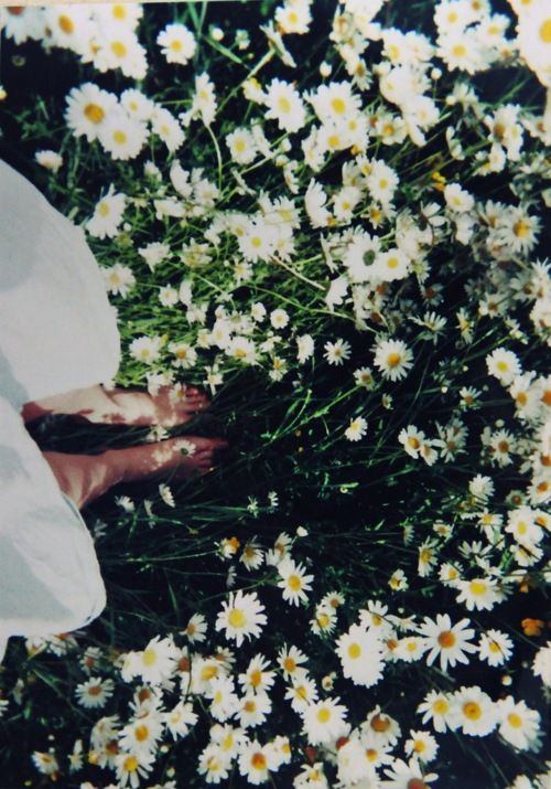 Love walking on grass with naked feet