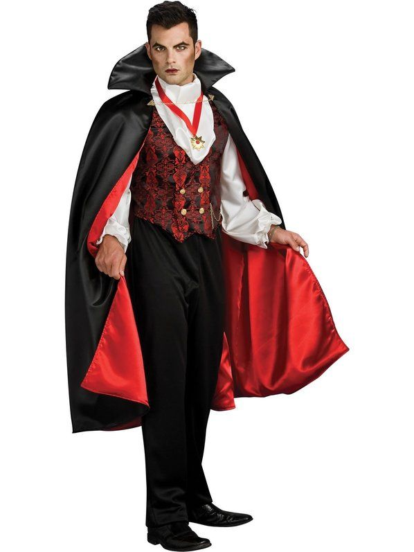 Check out Transylvanian Vampire Costume - Mens Vampire Costumes from Costume Super Center