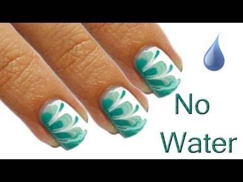 Best 25 marble nails tutorial ideas on pinterest marble nail no water marble nails tutorial youtube prinsesfo Images