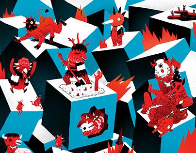 """Check out new work on my @Behance portfolio: """"Karate Press 01 (Cover)"""" http://on.be.net/1Xs5EYw"""