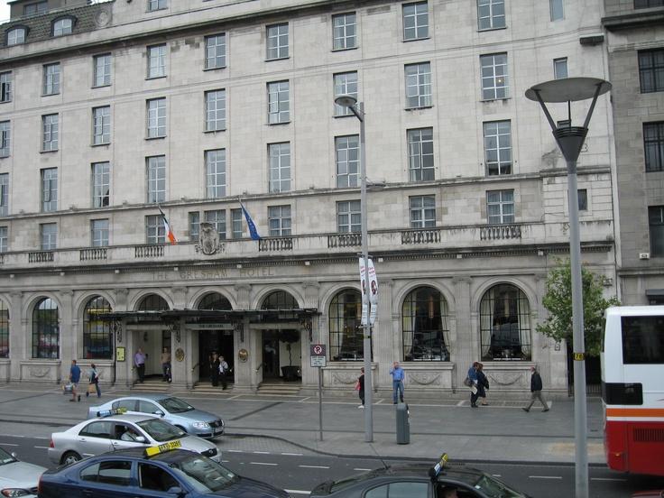 The famous Gresham Hotel, Dublin Ireland. Many famous ...