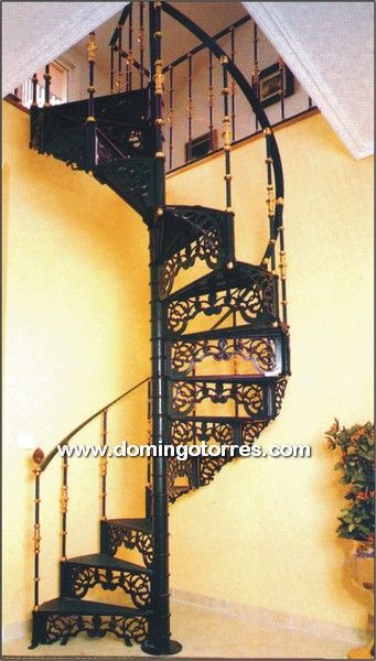 Escalera caracol hierro google search home ideas - Escaleras de hierro ...