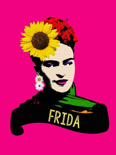 Arte: FRIDA PINK Artista: Ana Paula Hoppe