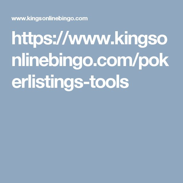 Meet the dependable Online Poker Odds Calculator, Kings Online Bingo. You will get a guidance of a successful game for Germany, Sweden, UK, Norway, Spain.