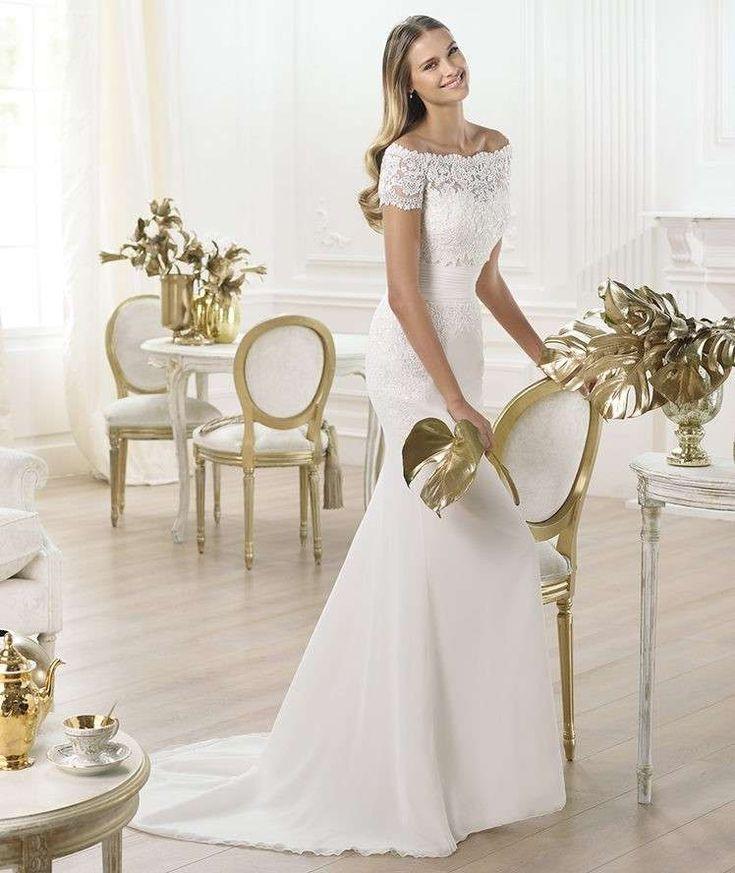 Matrimonio in spiaggia: gli abiti da sposa adatti - Abito da sposa semplice romantico