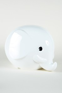 Norsu Piggybank So Cute White Elephantmoney
