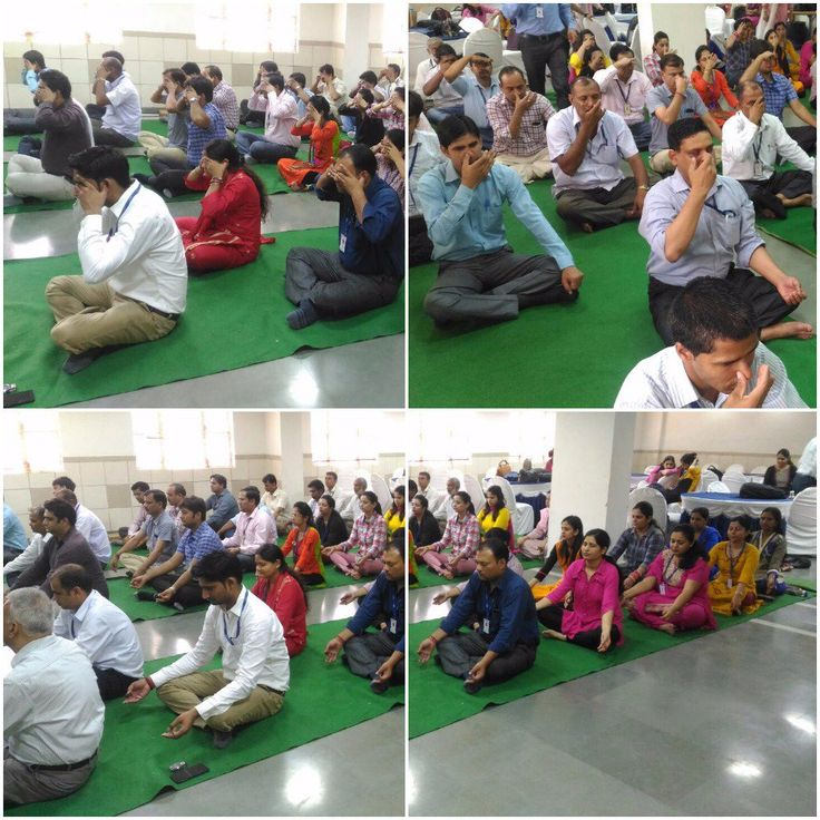 """KIIT conducted a """"OM UCHARAN"""" & """"Alom Vilom"""" session for peace of mind!!!"""