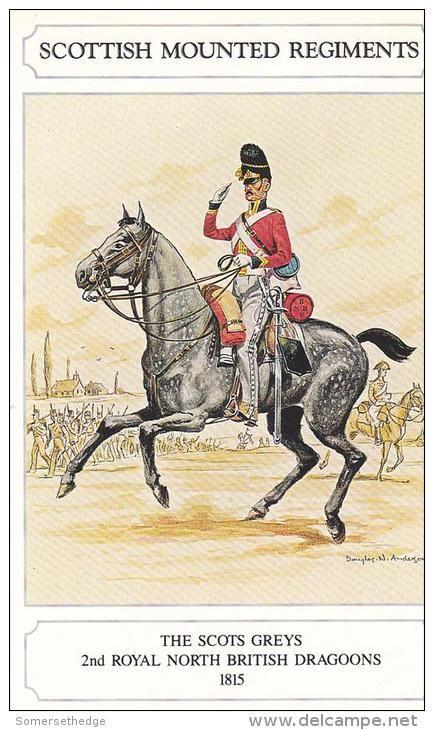 BRITISH ARMY - The Scots Greys 2nd Royal North British Dragoons 1815 Uniform