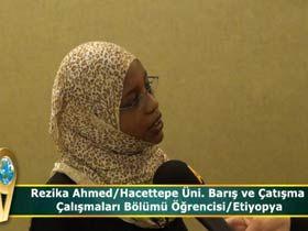 Rezika Ahmed / Hacettepe Üni. Barış ve Çatışma Çalışmaları Bölümü Öğrencisi / Etiyopya Video