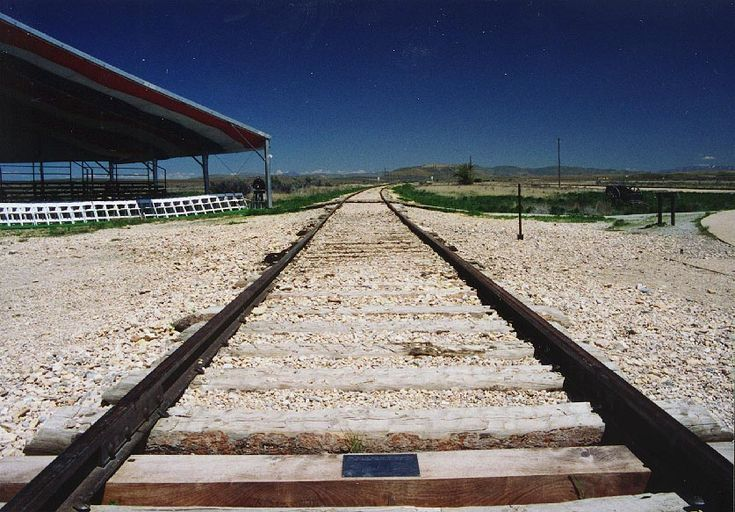 Golden Spike Location, Promontory, Utah