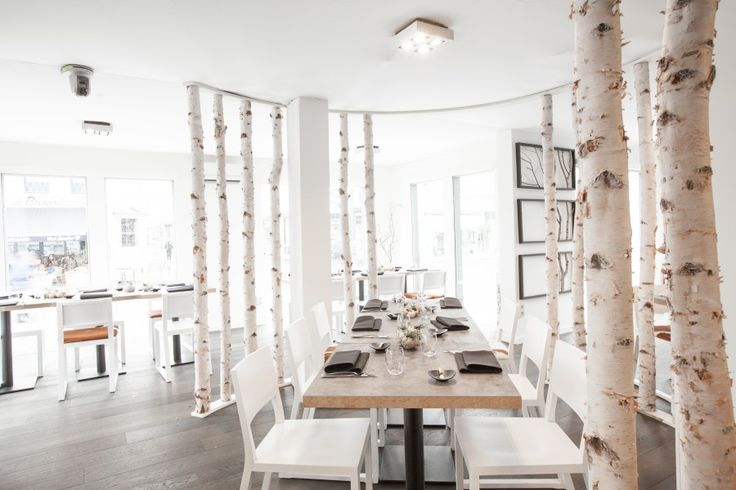 17 beste idee n over berken takken op pinterest takken winter decoraties en rustieke - Interieur decoratie restaurant ...