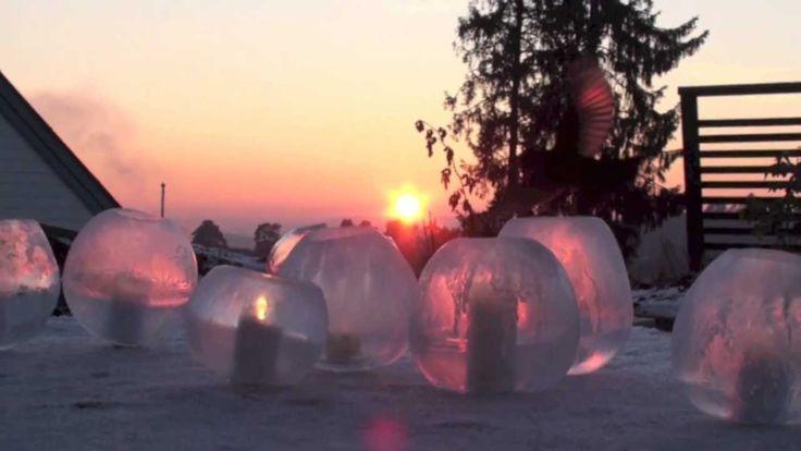 Hvordan lage islykter ved hjelp av ballonger