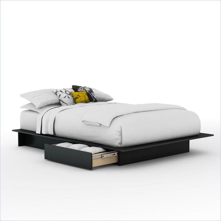 Platform Bed Frames With Drawers best 25+ queen platform bed frame ideas on pinterest | diy bed