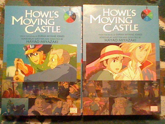Howl's Moving Castle no.1,3 Studio Ghibli Library Film Comic movie manga ENGLISH