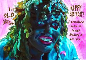 Craftosaurus: Old Gregg Birthday Cake Tutorial
