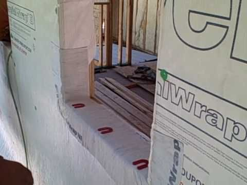 Andersen 100 Window Best Practice Install Method Tyvek