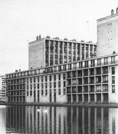 La Résidence du Parc Meudon, Paris, France; 1957-62