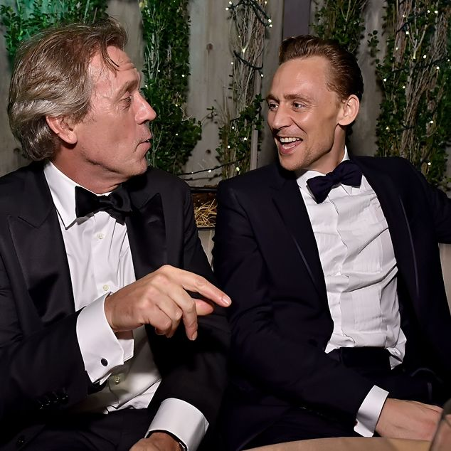 Tom Hiddleston and Hugh Laurie attend AMC Networks Emmy Party at BOA Steakhouse on September 18, 2016 in West Hollywood, California. Via Torrilla. Click here for full resolution: http://ww4.sinaimg.cn/large/6e14d388gw1f7z3g8fcvwj22bc1i8e83.jpg