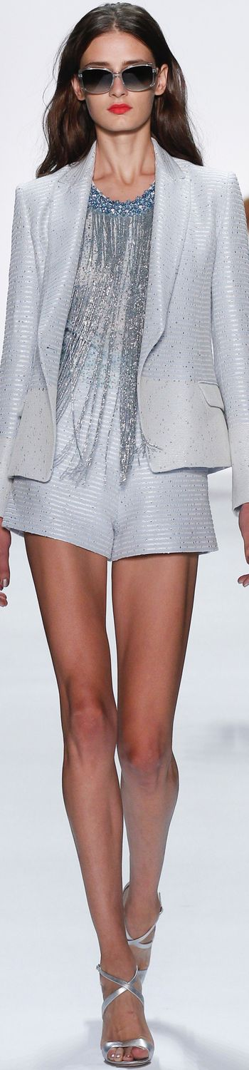 BADGLEY MISCHKA SPRING 2016 RTW-I want a skirt or long pants but love the top