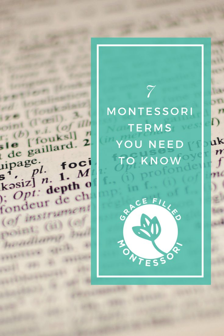 22 best Montessori Pedagogy images on Pinterest | Montessori ...