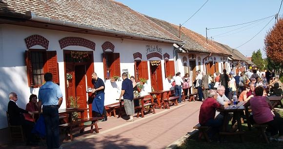 Red Wine Festival in Villány. Every year on the first weekend of October.