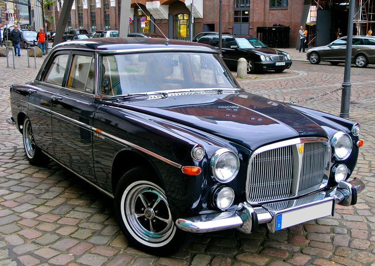 1969 Rover P5B - Absolutely beautiful to drive (Back in the day :-)