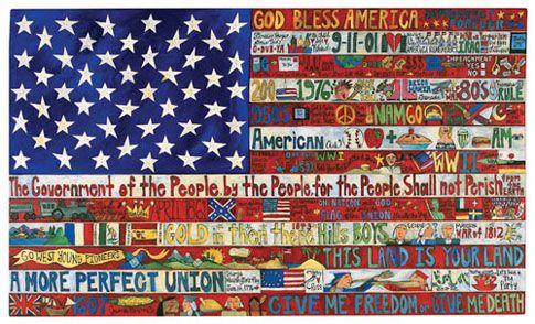 StudioArtMat4/5: Examples of American Flag Art