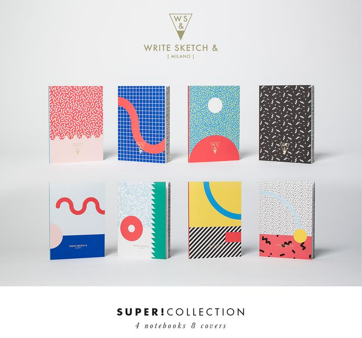 Write Sketch & | Super Collection | Notebooks on Behance